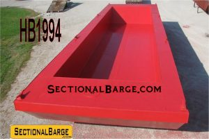 HB1994 - 60' TRUCKABLE HOPPER BARGE