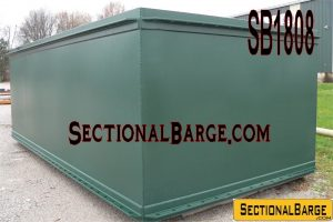 SB1808 - 20' x 10' x 7' SECTIONAL BARGES