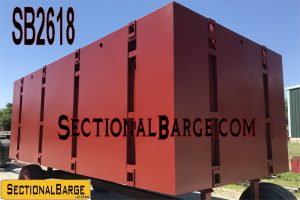 SB2618 - 20' x 10' x 7' SECTIONAL BARGE
