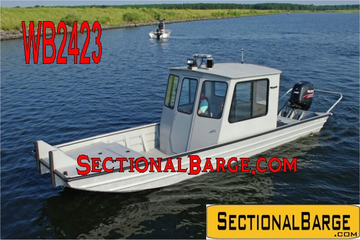 WB2423 – 200 HP SEAARK ALUMINUM WORK BOAT