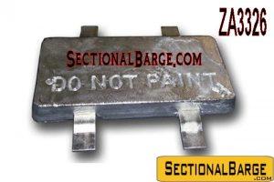 ZA3326 - ZINC ANODE - 23 LB.