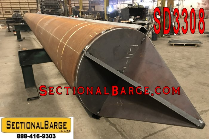 SD3308 – BARGE SPUDS – 24″ DIA. x 40′ LONG