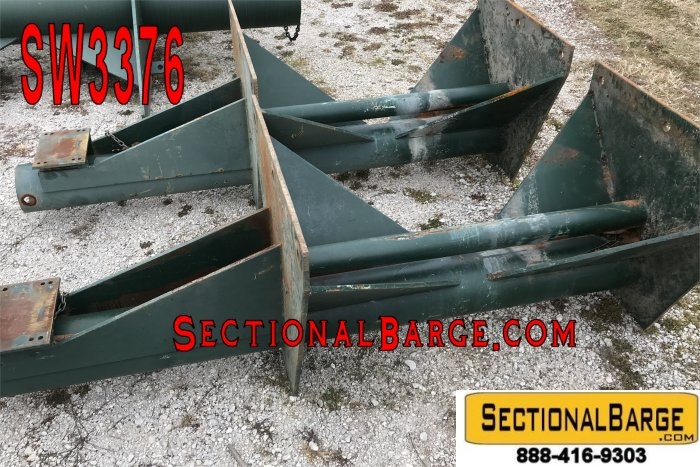 "SW3376 - USED 8"" SPUD WELLS"