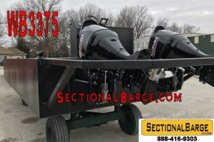 WB3375-A - 230 HP WORK BOAT