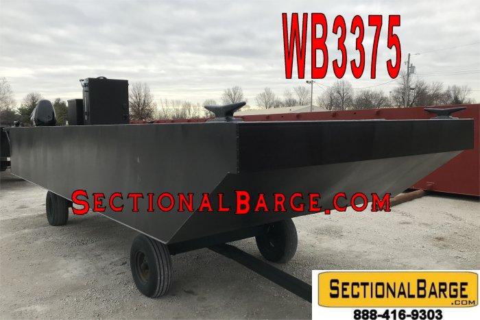 WB3375-B - 230 HP WORK BOAT
