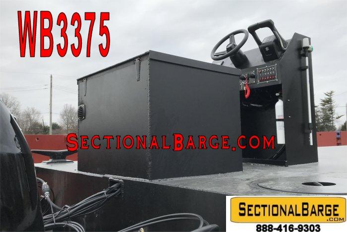 WB3375-C - 230 HP WORK BOAT