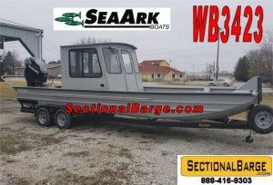 WB3423-C - 350 HP SeaArk WORK BOAT