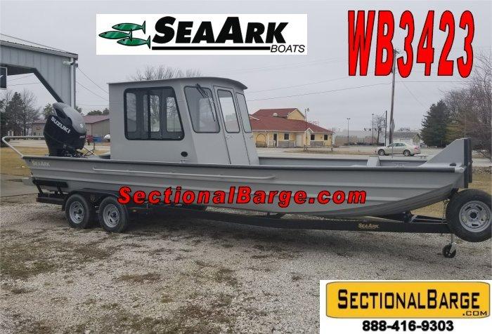 WB3423 – 350 HP SeaArk® WORK BOAT