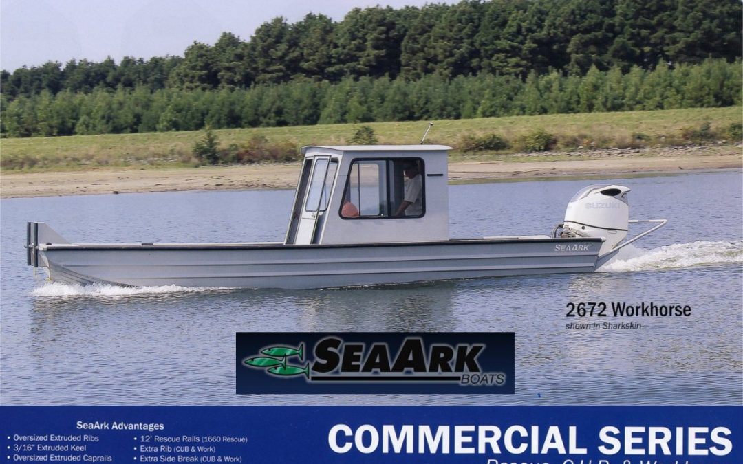 SeaArk® COMMERCIAL ALUMINUM WORK BOATS