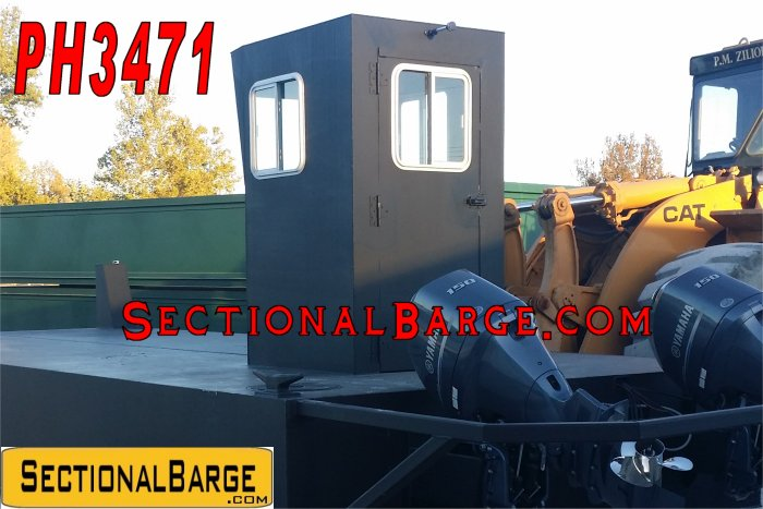 PH3471 – WORK BOAT PILOT HOUSE