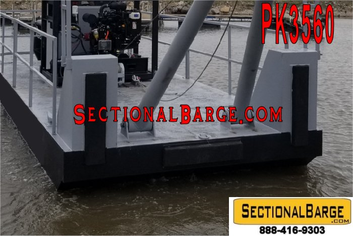 PK3560 - HD WORK BOAT PUSH KNEES