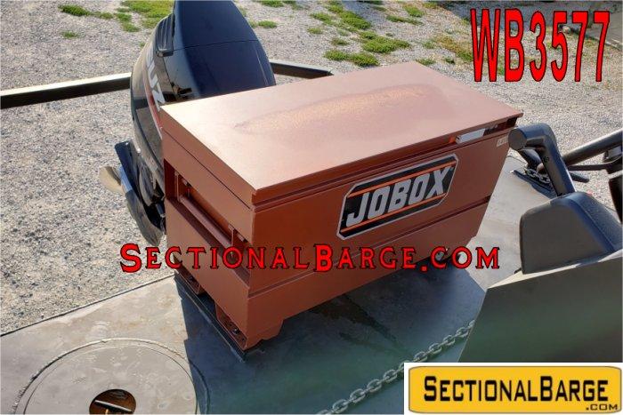 WB3577-175 HP WORK BOAT