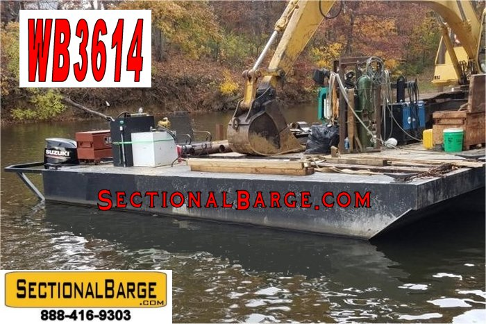 WB3614 - USED 175 HP WORK BOAT