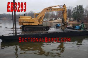 EB3293 – JOHN DEERE EXCAVATOR BARGE PKG.
