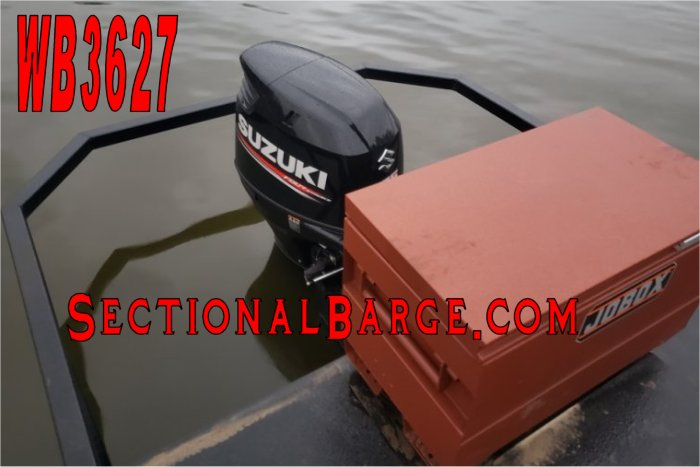 WB3627 - USED 175 HP WORK BOAT