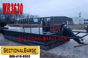 WB3630- USED 175 HP WORK BOAT