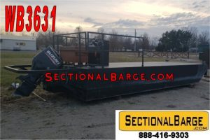 WB3631 - USED 200 HP WORK BOAT