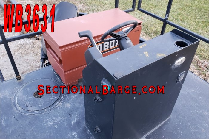 WB3631 - USED 200 HP WORK BOAT