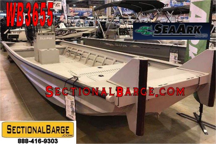 WB3655 - SeaArk 2472 ALUMINUM WORK BOAT