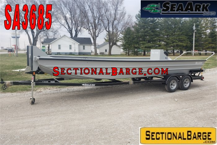 SA3685 – SeaArk 2472 WORKHORSE WORK BOAT