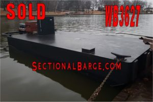 WB3627 – USED 175 HP WORK BOAT