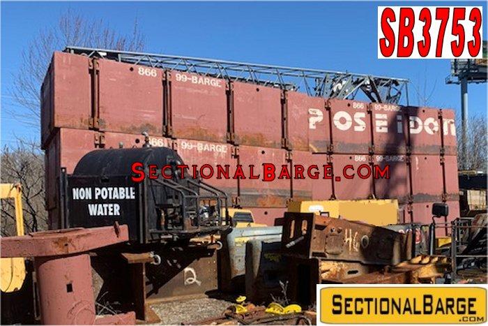 SB3753 – USED P2 POSEIDON® SECTIONAL BARGES