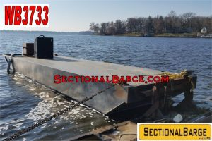 WB3733 - USED 200 HP WORK BOAT