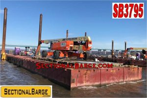 SB3795 – 120′ x 30′ x 7′ FLEXIFLOAT® SECTIONAL BARGE