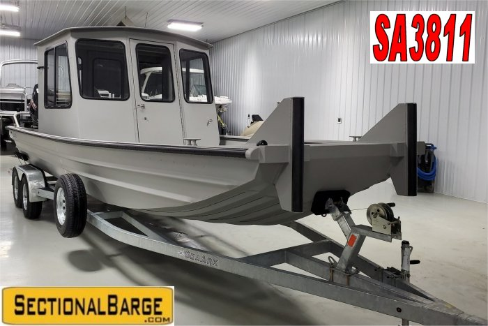 SA3811 – 230 HP SeaArk® 2472 WORKHORSE