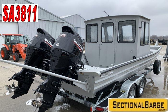 SA3811 – 230 HP SeaArk® 2472 WORKHORSE