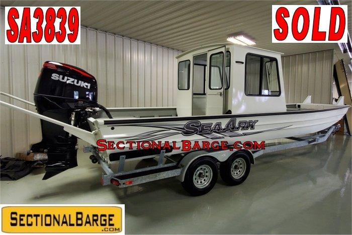 SA3839 – 250 HP SeaArk® 2672 WORKHORSE