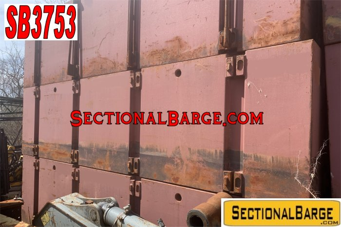 SB3753 – USED P2 POSEIDON® SECTIONAL BARGES