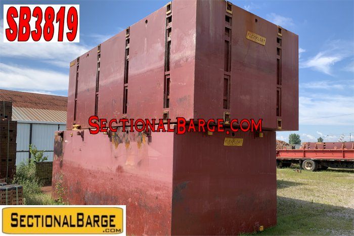 SB3819 - 7' FLEXIFLOAT SECTIONAL BARGES