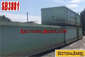 SB3881 - USED 7′ SHUGART SECTIONAL BARGE PACKAGE
