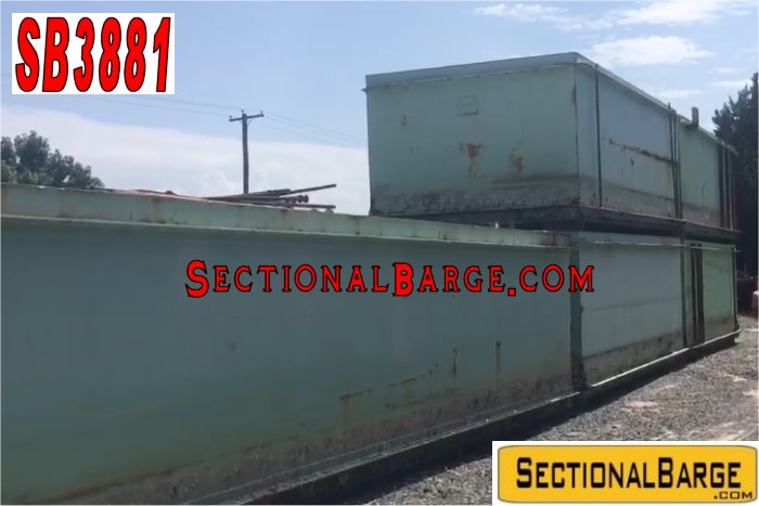 SB3881 – USED 7′ SHUGART SECTIONAL BARGE PACKAGE