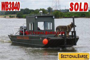 WB3840 – 225 HP WELDBILT WORK BOAT