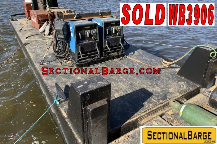 WB3906 - USED 200 HP WORK BOAT