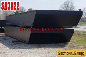SB3822 - 60' x 24' x 4' SECTIONAL SPUD BARGE