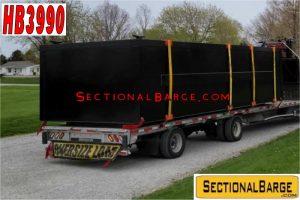 HB3990 - 25 CY HOPPER BARGE