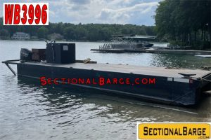 WB3996 - USED 175 HP WORK BOAT W/ RAMPS